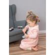 Rózsaszín steppelt bélelt tipegő hálózsák -G-Baby Boutique