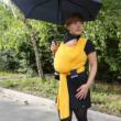 Liliputi rugalmas hordozókenő Sunshine G-Baby Boutique