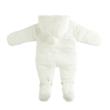 Ido unisex fehér (koraszülött) overál - G-Baby Boutique