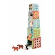 Állatos toronyépítő