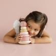 Montessori torony pink G-Baby