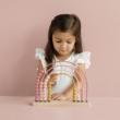 Little Dutch új abacus szivárvány pink