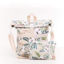 Lilla Sellei variálható gyapotvirág softshell táska