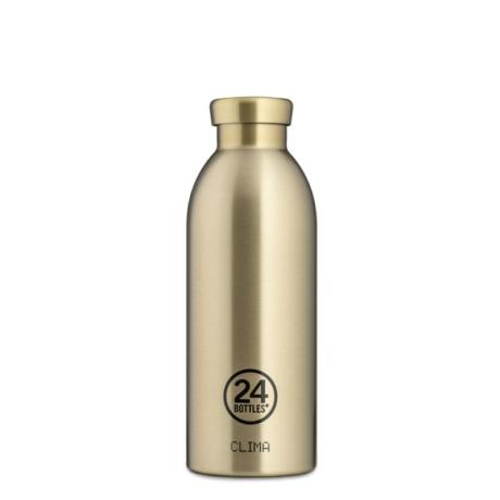 24Bottles Clima kulacs pezsgő arany gold 500 ml, termosz Prosecco gold
