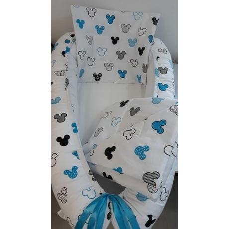 kék Mickey egér babafészek