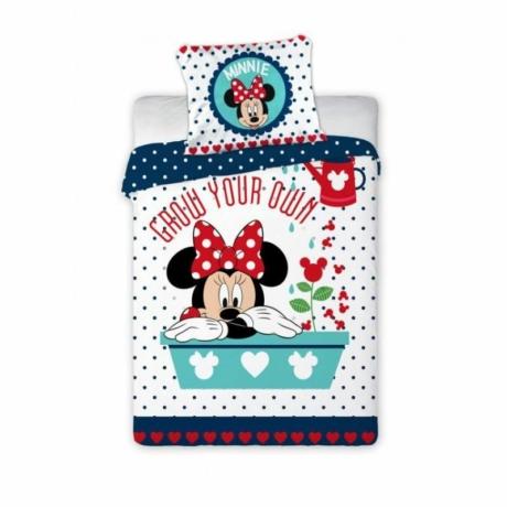 Minnie egeres ovis ágyneműhuzat 100% pamut