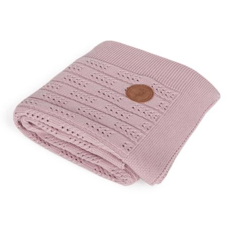 pasztell kötött babatakaró pink-gbaby.hu