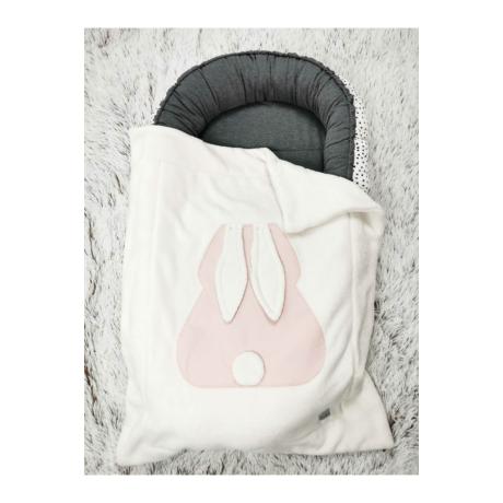 Pihe-puha nyuszi takaró rózsaszín
