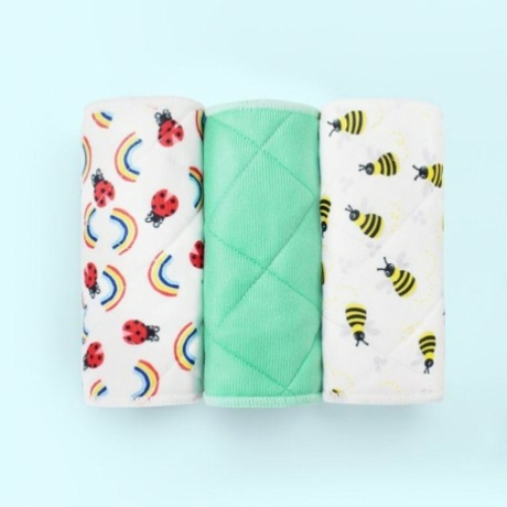 BAMBINOMIO MIOBOOST PELENKABETÉT SZETT-méhecske-katica G-Baby Boutique