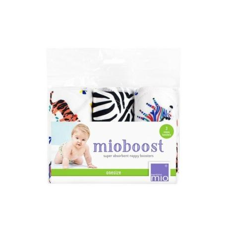 Bambinomio Mioboost pelenkabetét zebra mintás
