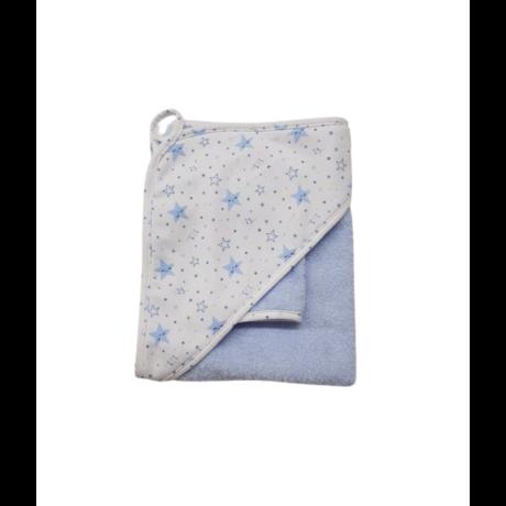 Fürdőlepedő kék csillagos-gbaby.hu