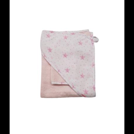 Fürdőlepedő rózsaszín csillag-gbaby.hu
