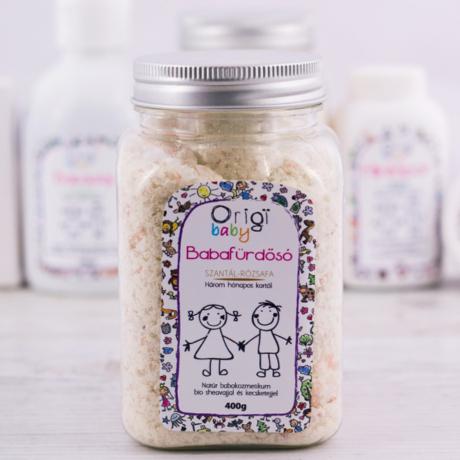 Origi babafürdető szantál-rózsafa 400 g G-Baby Boutique