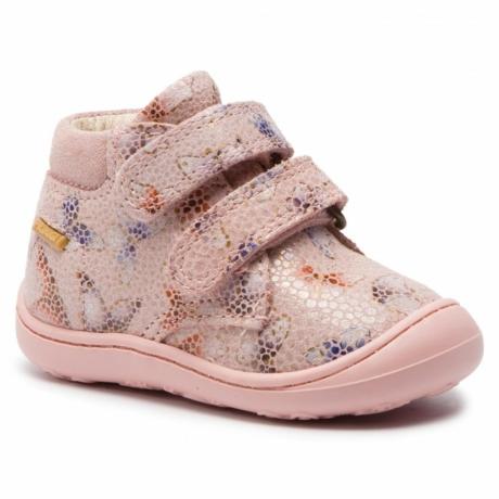 Primigi tépőzáras első lépés rózsaszín kislány cipő