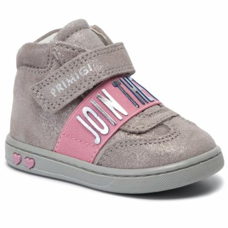 Primigi tépőzáras kislány szürke cipő