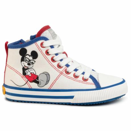 Geox Mickey Mouse vászon fiú cipő