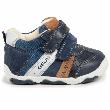 Geox tépőzáras kék fiú cipő
