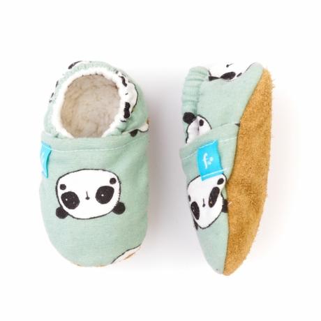 Funkidz puhatalpú gyerekcipő menta panda gbaby.hu