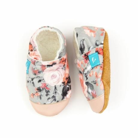 Funkidz puhatalpú cipő Rózsák
