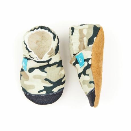Funkidz puhatalpú cipő terepmintás