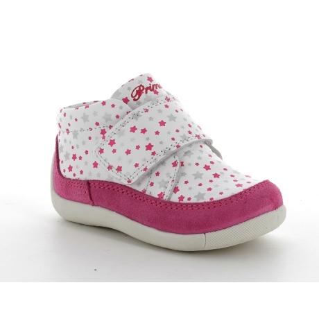 pink csillagos lányka cipő