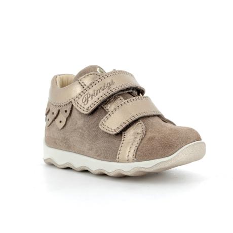 Primigi tépőzáras kislány cipő arany-barna 6355800