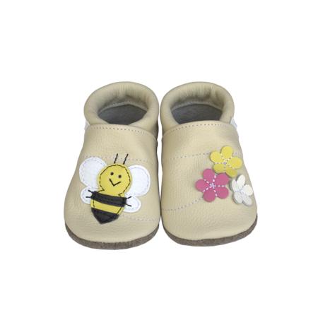 puhatalpú cipő bézs-méhecskés-gbaby.hu