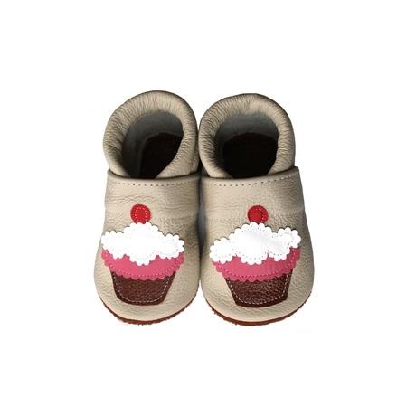 Bőr puhatalpú cipő muffin