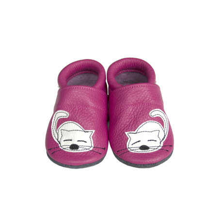 puhatalpú cipő pink cicás-gbaby.hu
