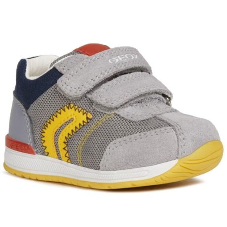 Geox sportcipő szürke-sárga