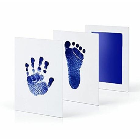 Kék kéz- és láblenyomat készítő - G-Baby Boutique