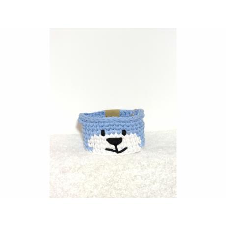 Macikosár kék közepes 20 cm