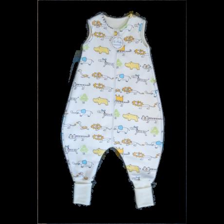 Szafari mintás bélelt tipegő hálózsák - G-Baby Boutique