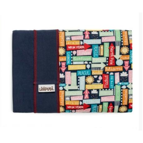 Liliputi rugalmas hordozókendő Traveller - G-Baby Boutique