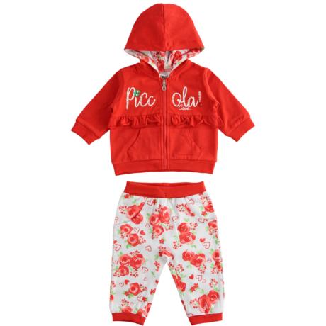 IDO 2 RÉSZES KISLÁNY NADRÁGOS SZETT - Virágos - G-Baby Boutique