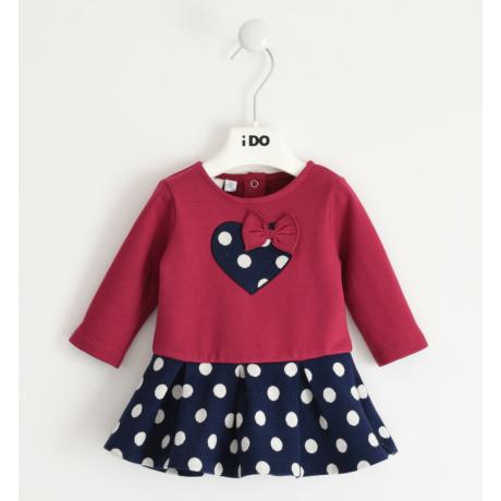IDO pöttyös szívecskés kislány ruha - G-Baby Boutique