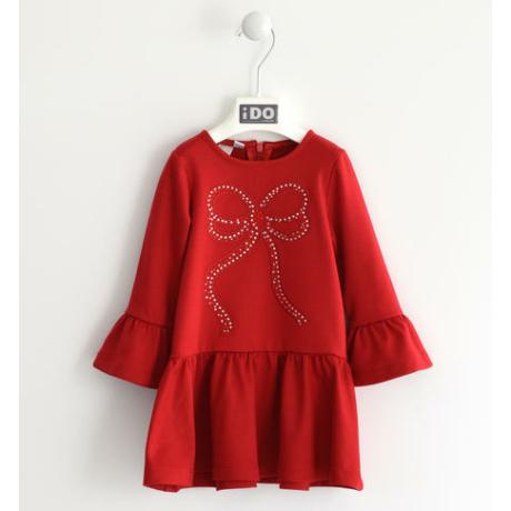 Ido piros lányka ruha -G-Baby Boutique