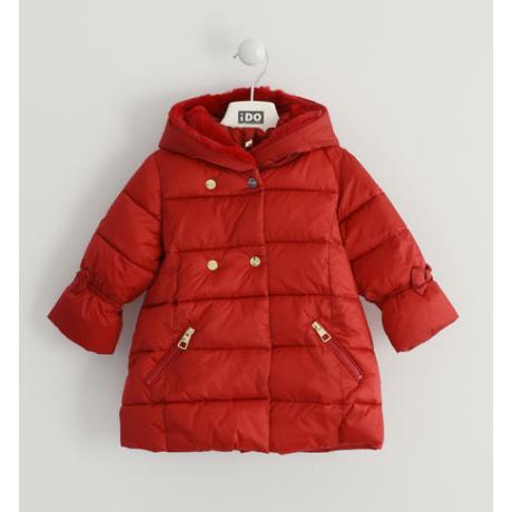 IDO kislány piros téli kabát G-Baby Boutique