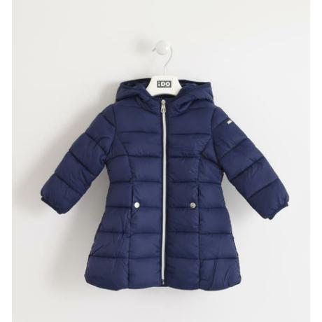 IDO kislány sötétkék téli kabát-G-Baby Boutique