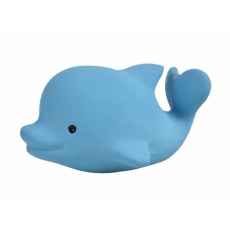 Tikiri delfin fürdőjáték természetes gumiból gbaby.hu