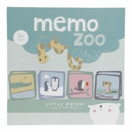 Little Dutch memória játék - állatkert