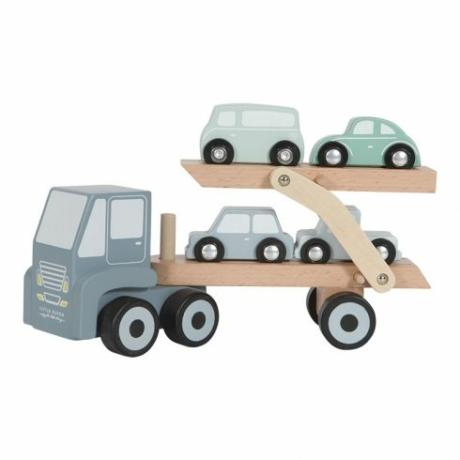 Little Dutch fa játék kamion adventure kék G-Baby Boutique