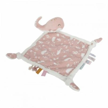 Little Dutch szundikendő pink bálna