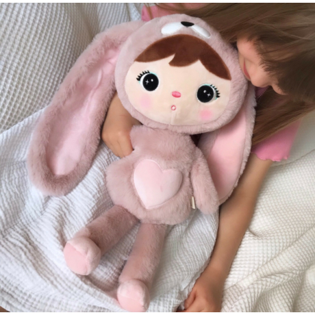 Nyuszi baba púder-rózsaszín -gbaby.hu