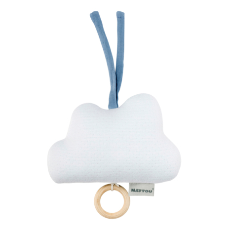 Nattou kék zenélő felhő