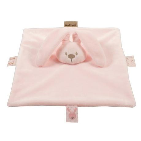 Nattou rózsaszín nyuszi szundikendő