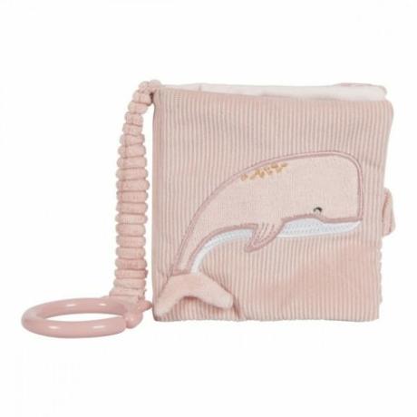 Little Dutch plüss babakönyv tengeri állatos pink