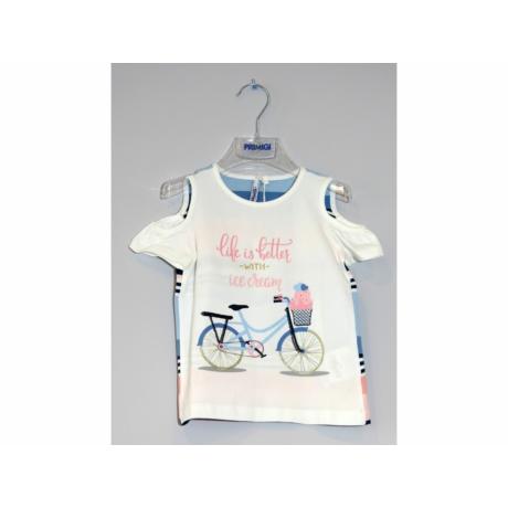 Primigi kislány biciklis póló