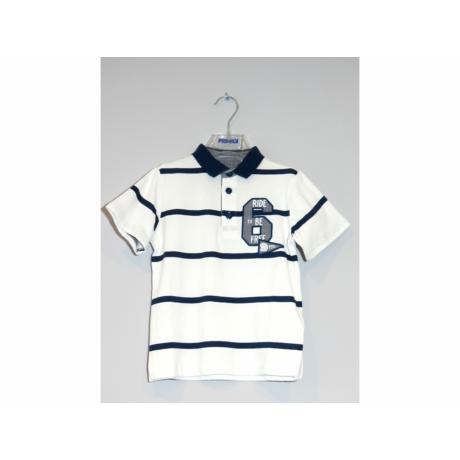 Primigi kék galléros fiú póló
