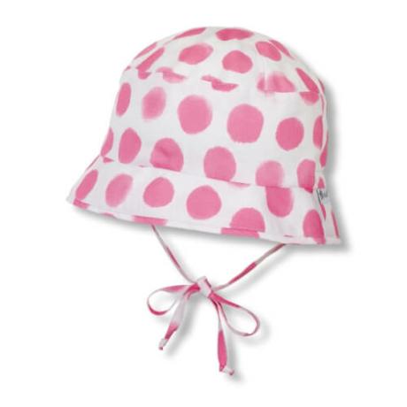Sterntaler pink pöttyös UV szűrős kalap